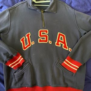Vintage USA Polo Ralph Lauren half zip sweater